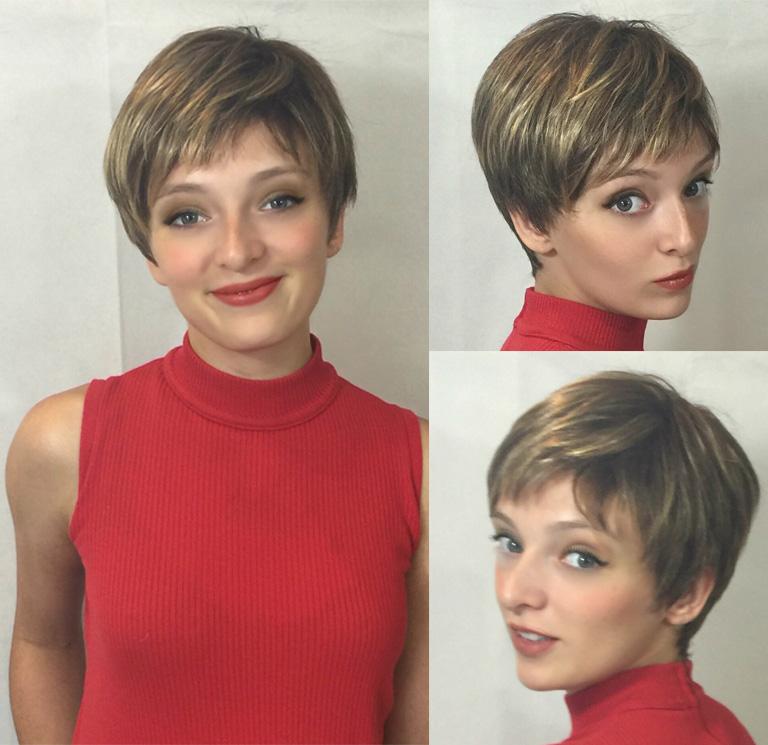 Sleek Pixie Cut Wig Styles