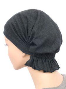 Charcoal Gray Cotton Knit