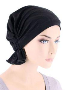 Raven Black Cotton Knit