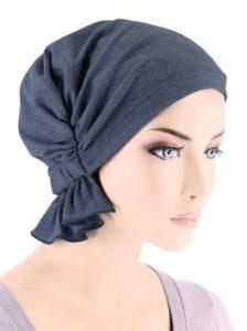 Medium Denim Cotton Knit