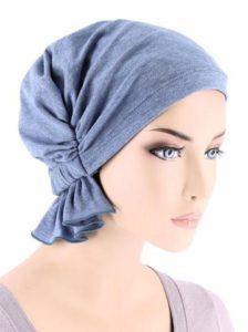 Light Denim Cotton Knit