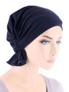 Navy Blue Cotton Knit