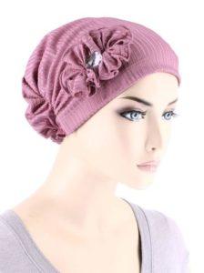 Rose Pink Ribbed