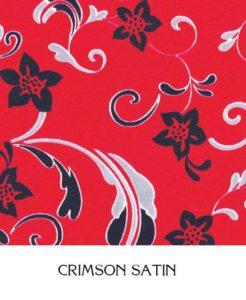 Crimson Satin