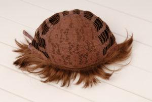 wefted wig cap